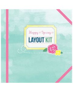 Happy Spring Layout Kit