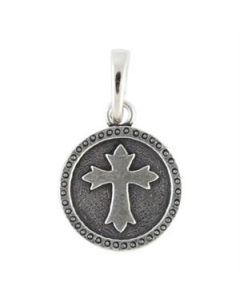 Silver Cross Droplet