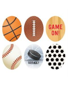 Sports Oval Locket Backdrops