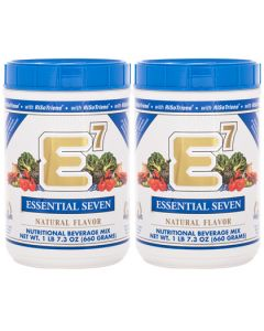 E7® Natural Flavor (2 canisters)